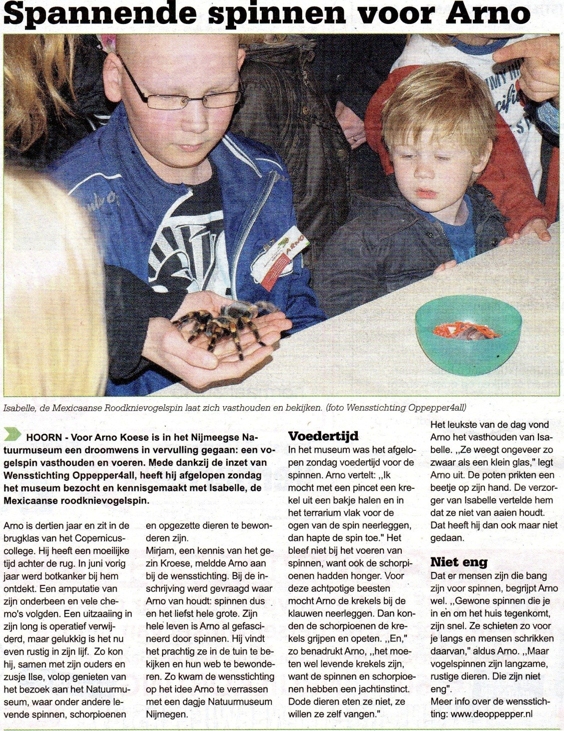 Westfries Weekblad, 18 april 2012