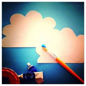 """""""Dan verfde jij de wolken blauw"""""""