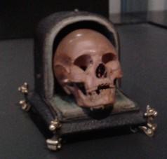Doodshoofd met foedraal  (Rijksmuseum)