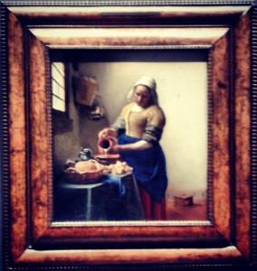 Het Melkmeisje - Rijksmuseum